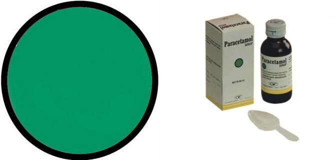 Contoh kemasan obat bebas dengan logo hijau