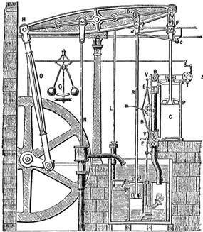 mesin uap watt