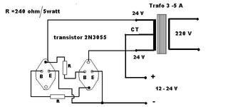 Rangkaian Inverter